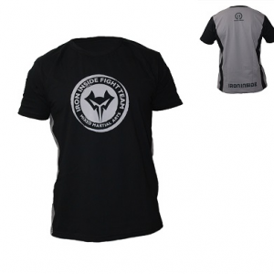 Ефектна тениска MMA TEAM на марката IRONINSIDE. Идеална както за всякакъв вид спорт, така и за ежедневно носене. 100% памук