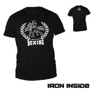 Бокс тнениска Boxing Classic - IRON INSIDE пуска в продажба уникалната тениска BOXING Classic, за всички фенове на бокса.