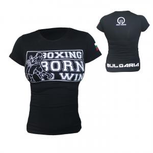 Дамска тениска BOXING Limited / IRONINSIDE вече е факт, за всички фенове на бокса. Това е вашата тениска, която ще Ви направи различен...