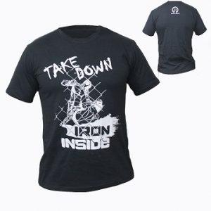 ММА тениска Take Down / IRONINSIDE - IRON INSIDE пуска в продажба уникалната тениска Take Down , за всички фенове на бойните спортове.
