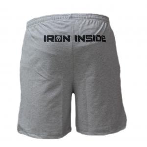 Къси гащета Train Hard / IRONINSIDE с лого на десния крачол IRONINSIDE са най-добрия избор на облекло, подходящо за вашите тренировки и за ежедневно носене.