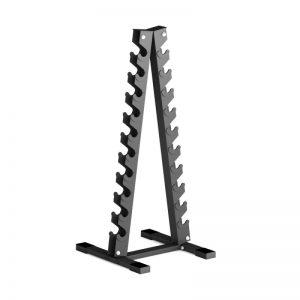 Пирамида за дъмбели / IRONINSIDE е изработена от висококачествена стомана. Идеален вариант за подредба на вашите дъмбели във вашата зала.