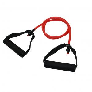 Тренировъчен ластик с дръжки - най-големият плюс при тренировъчните ластиците е, че те са супер удобен и практичен уред за трениране.