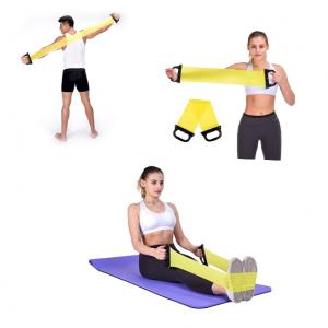 Тренировъчна лента с дръжки – най-големият плюс е, че те са супер удобен и практичен уред за трениране. Изполвани от любителите на красивите тела