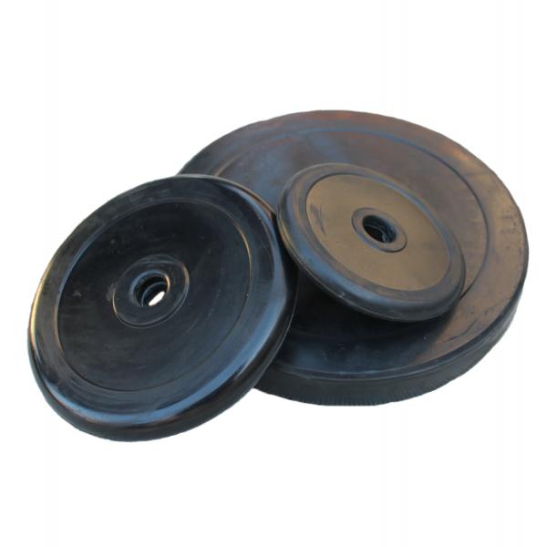 Гумирани дискове Ф30 - първокласни гумирани дискове, изцяло съвместими с лост за дъмбел, който предлагаме. Дисковете са покрити с висококачествен каучук