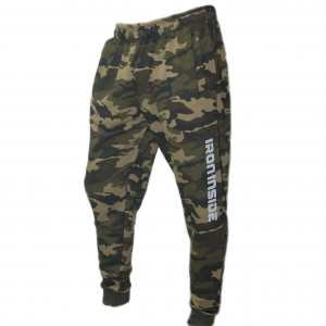 Спортно долнище Green Camo / Limited – Отново фирмата за спортни облекла IRONINSIDE доминира със своята серия (Camo / Limited). Това е линия за професионални спортисти, изключително разпозната в бойните спортове.