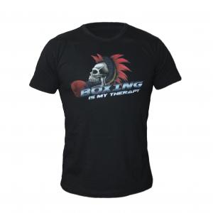 Тениска Boxing Therapy – IRON INSIDE пуска в продажба уникалната тениска ММА , за всички фенове на бойните спортове.