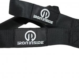 Единични ръкохватки от плат на марката IRONINSIDE са универсални и ставата перфектно за всички видове фитнес уреди. Фитнес аксесоари