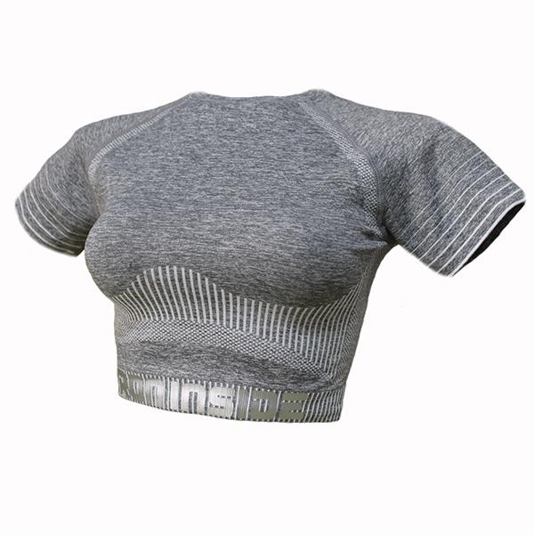 Къса дамска тениска / Inferno - Най-качественото спортно облекло за всички дами, решили да се отдадат на активен спорт. Удобстов и комфорт.
