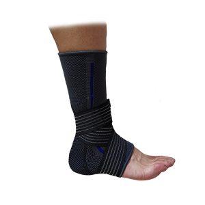 Компресивна наглезенка / ластична материя - осигурява стабилност и поддръжка на глезена след травми, навяхвания и следоперативни състояния