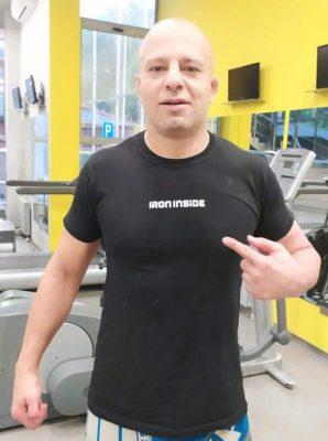 Камен Георгиев - ММА състезател част от IRON INSIDE